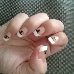 Chanel Nail Stickers